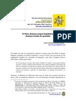 El Peru_Diversos Grupos Linguisticos