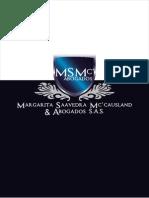 Msmc & Abogados Brochure 2013