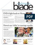Washingtonblade.com, Volume 44, Issue 46, November 15, 2013