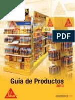 Guia de Productos 2013_Sika_BAJA
