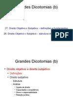 27 28 Dicotomias Objetivoxsubjetivo NET