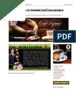 CAFÉ LINGZHI_ EL PRIMER CAFÉ SALUDABLE_ Ganoterapia