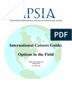 Career Guide APSIA