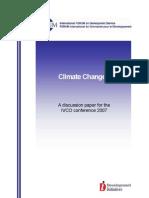 FORUM Discussion Paper Climate Change 2007