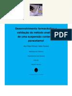 Tese Ana Ferreira Paracetamol