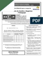 S15 P - Analista de Gestão e Negócios - Pedagogia