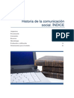 Historia Comunicacion Social