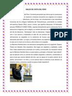 BAILES DE COSTA DEL PERÚ