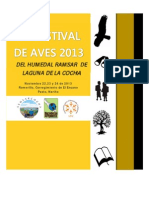 2do Festival de Aves