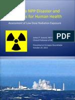Fukushima NPP Disaster and Implications for Human Health
