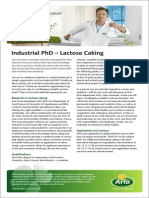 Industrial PhD - Lactose Caking Nr. Vium-Rennes IE 2550713