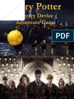 hp literary device adventure game