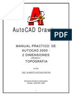 Manual de Topografia 2008 Modulo Adicional 8 Autocad p Topografia