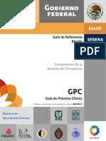 Guía Referencia Rápida CENETEC Tratamiento de la Anemia del Prematuro