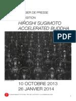 Exposition Hiroshi Sugimoto - dossier de presse