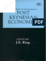 2003 the Elgar Companion to Post Keynesian Economics