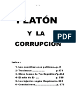 Platón y la corrupción