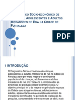 Diagnóstico Sócio-Econômico de Crianças - Fortaleza (STDS-GPDU)