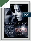 Bianca DÆArc - Mßs Dulce Que El Vino - Serie Hermandad de Sangre IV - Las Ex 351