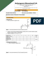 lab 04 - eletronica I -  PolarizaçãoTransistor