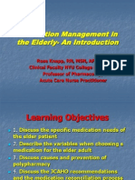 Medication Use in Older Adults by Rose Knapp, MSN, RN, APRN-BC, ANP