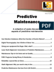A collection of Predictive Maintenance Articles