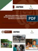 Supervision Metodologia 2013