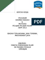 KERTAS KERJA K. IBADAH 2013 - news.doc