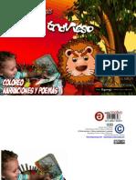 El león travieso - Coloreo narraciones y poemas
