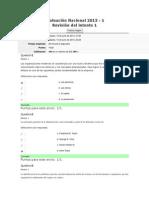 Evaluación Nacional 2013-fundamentos de administración
