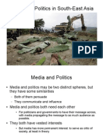 Media and Politics in South-East Asia