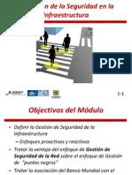 Modulo 1 del Curso de diseño de vías seguras para usuarios vulnerables