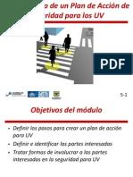 Modulo 5 del Curso de diseño de vías seguras para usuarios vulnerables