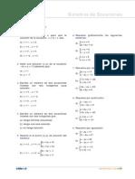 Ejercicios Sist. Ecuaciones