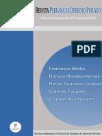 Revista Peruana de DerechoPrivado 1