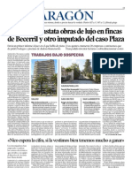 2013-11-08 Heraldo La policía constata obras de lujo en fincas de Becerril.