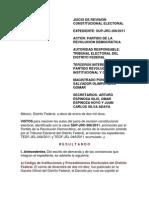 JRC 306-2011 Voto Por Internet DF