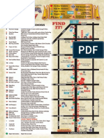 2013 Oak Street Po-Boy Fest Map
