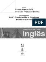 Impresso Lingua Inglesa i b