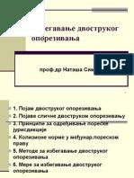 Dvostruko oporezivanje-prezentacija