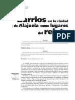 """Cecilia Barrantes """"Barrios en la ciudad de Alajuela como lugares del relato"""""""