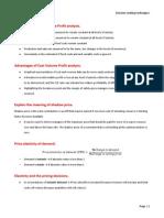 ACCA F5 - Part B - Decision-making techniques.docx