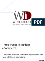 WineDirect Shipping Presentation for the DTC Roadshow