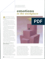 Emotions in the Workplace 1