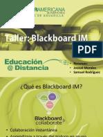 Taller Blackboard IM