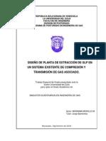 DISEÑO DE PLANTA DE EXTRACCIÓN DE GLP