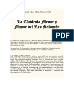 LAS CLAVÍCULAS DEL REY SALOMÓ1
