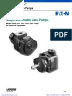 Vickers v10 v20 v2010 v2020 Vane Pumps