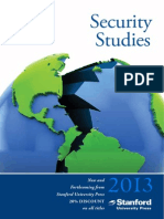 2013 Security Studies Catalog