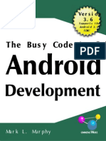 The Busy Coders Guide to Android Development v.3.6